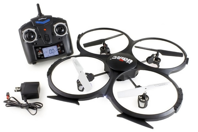 Woddon iConEyes quad-copter with Bluetooth streaming video
